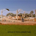 Mosaics Display in Wongabirrie Park